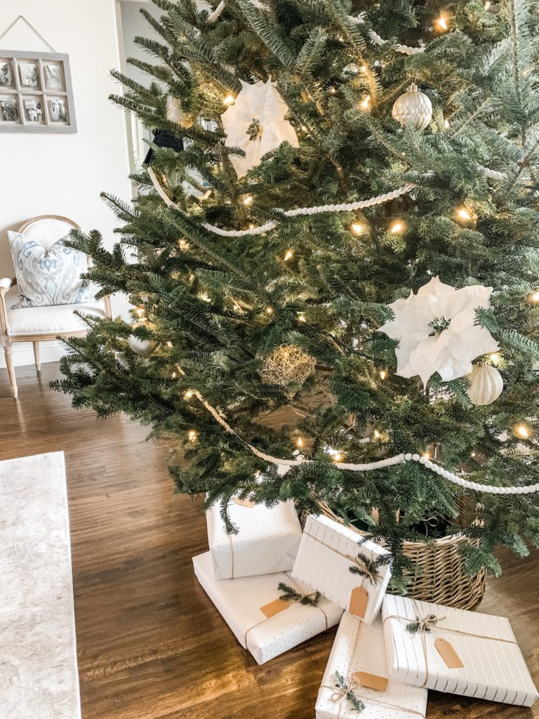 Simple And Neutral Christmas Home Decor A Poised Perspective